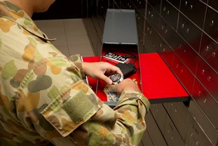 Military Valuables Storage